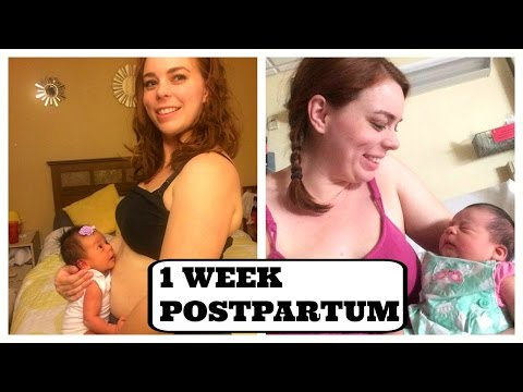 1 WEEK POSTPARTUM UPDATE (Afterbirth Contractions, Self Esteem, & Recovery)