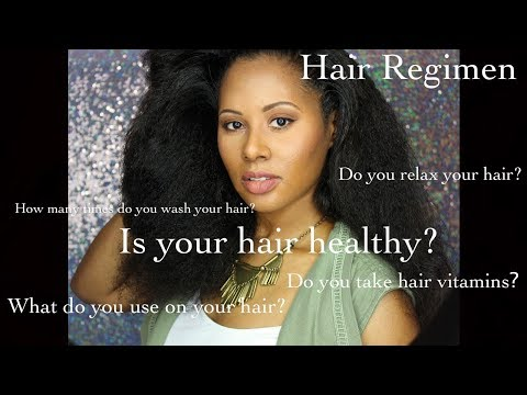 Hair Regimen For Long Thick Healthy Hair
