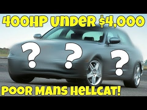 I Bought a CHEAP 400HP Supercharged V8 BEAST! *Super FAST*