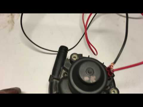 Audi 2.7 secondary air injection pump test