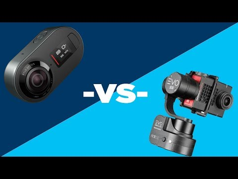 Rylo Camera VS Evo Gimbal