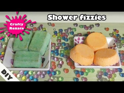 DIY energizing & uplifting shower steamers