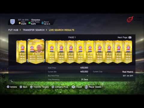 Fifa 15 proof that prices vary significantly during the day HD
