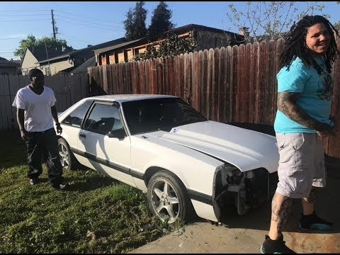 After 10 years in jail, he finally gets to drive his mustang again