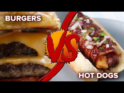 Burgers Vs. Hot Dogs