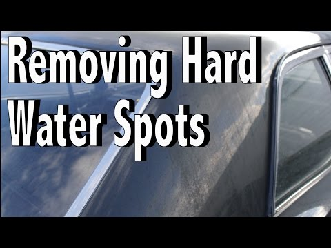 Detail Pro - The Best Product for Removing Hard Water Spots and Scale From Your Car