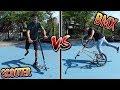 SCOOTER VS BMX!