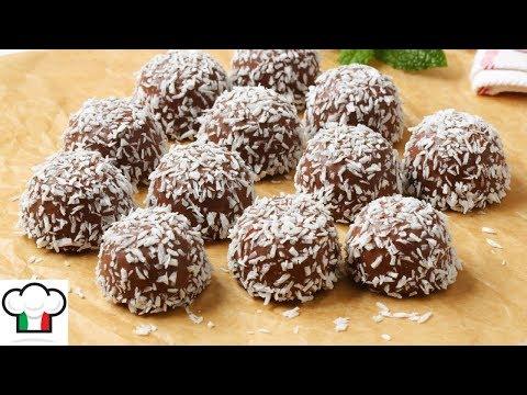 Chocolate Coconut Snowballs Recipe - No Bake