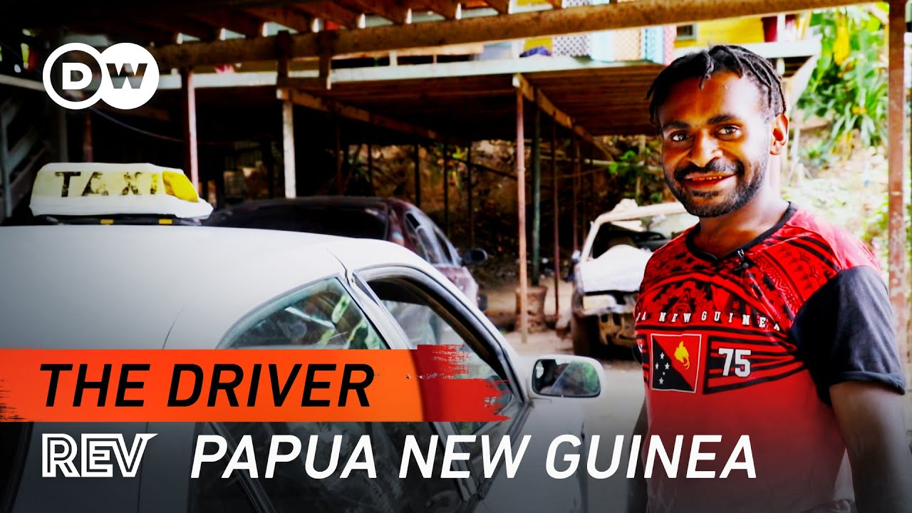 Driving in one of the most dangerous places in the world | The Driver | Papua New Guinea