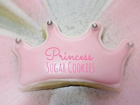 Princess Sugar cookies