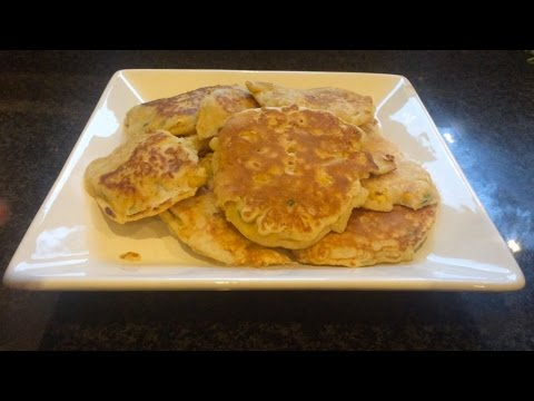 Sweetcorn Fritters Recipe