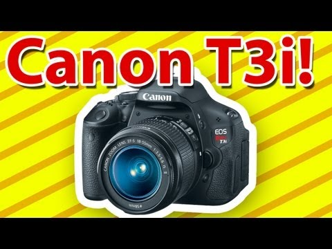 Canon T3i DSLR Camera! -Review & Demo!