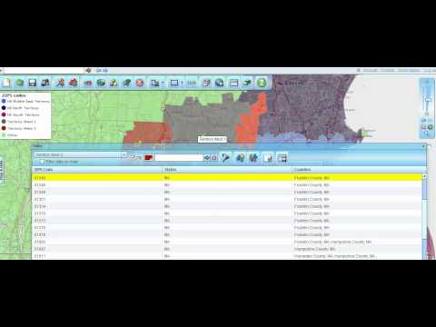 How to Create and Manage Sales Territories: An 8 Minute Overview Using Map Business Online