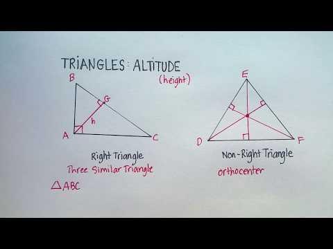 Triangles: Altitude