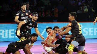 Pro Kabaddi 2018 Highlights Puneri Paltan Vs Telugu Titans Hindi