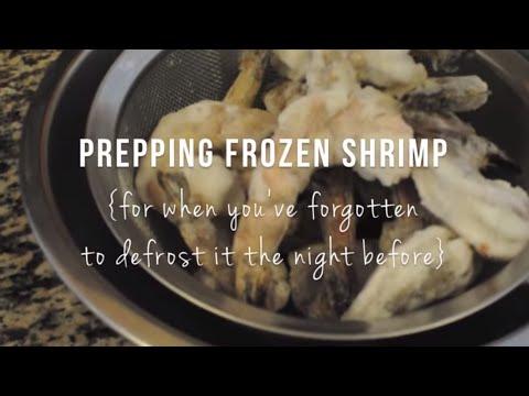 How to Prepare Frozen Shrimp   @cooksmarts