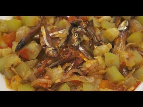 Paano magluto Ginisang Upo Dilis Recipe - Tagalog Pinoy Filipino Dried Fish