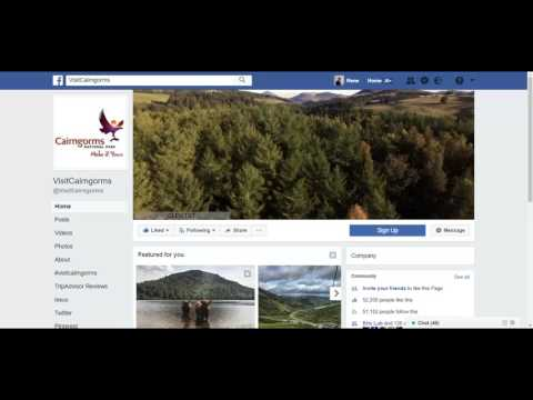 How to upload the new Facebook cover video to business page