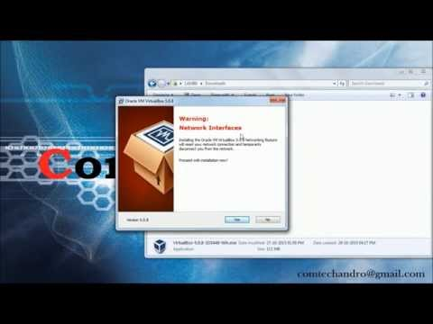How to Download and install Oracle VM Virtual Box in Windows 7
