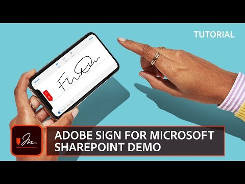 Adobe Sign for Microsoft SharePoint Demo