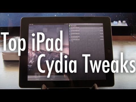 Top 5 Best Cydia Tweaks, 2012 - iPad iOS 5.1.1 Edition