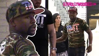 Download Floyd Mayweather & His TMT Entourage Go Shopping At Barneys New York In Beverly Hills Video