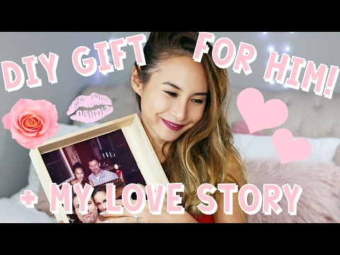 💕BEST DIY VALENTINE'S DAY GIFT FOR HIM + MY MINI LOVE STORY! (WARNING THIS WILL MAKE YOU CRY)💕