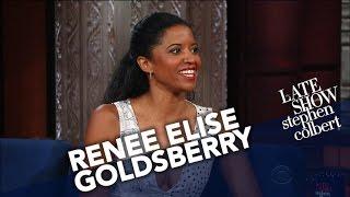 Renée Elise Goldsberry Gets Cornered By Kids Who Memorized