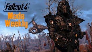 Fallout 4 Modz # 55 Black Widow Armor & More Smarter Companions Mod
