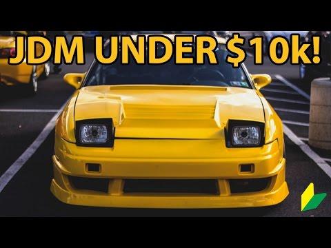 Top 10 JDM Cars Under $10,000!!