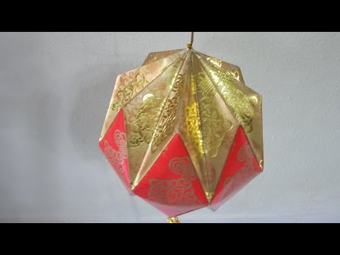 CNY TUTORIAL NO. 16 - How to make Red Packet (Hongbao) Ornamental Ball