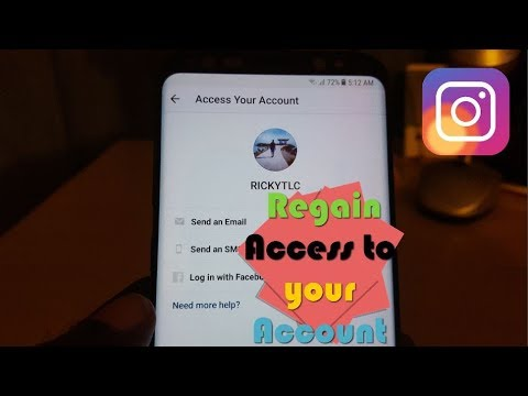 Easily Get back your Instagram Account