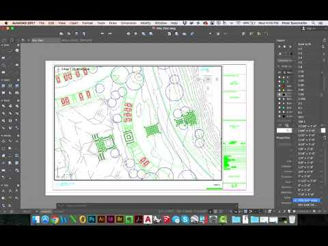 Setting the Drawing Scale in Paperspace using AutoCAD for Mac