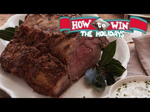 Holiday Roast Prime Rib | Food Network