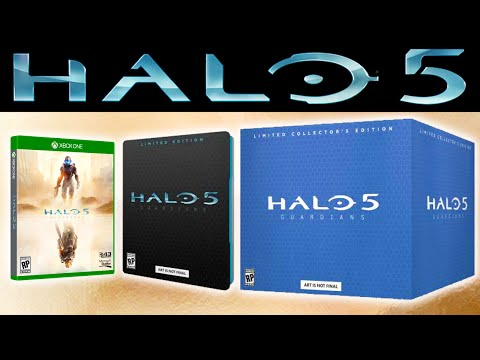 Halo News - Halo 5 Limited Collectors Edition Announced!
