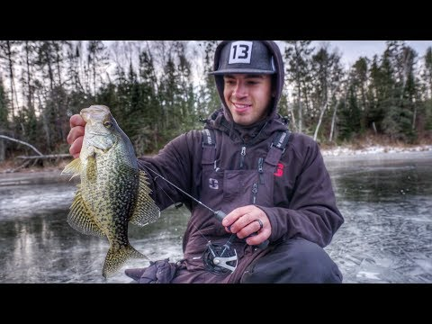 Find and Catch Panfish on Small Lakes and Ponds [Ice Fishing]