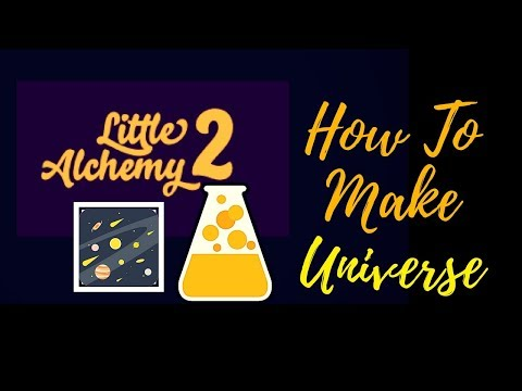 Little Alchemy 2-How To Make Universe Cheats & Hints