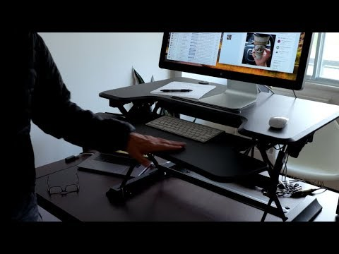 Sit Stand Hero Desk Review - I now stand more than I sit!