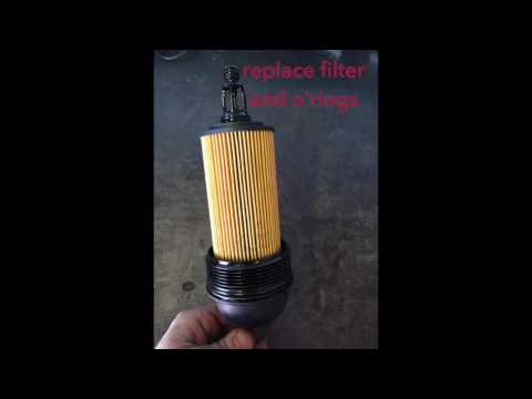 BMW X5 Oil Filter Replacement Diesel
