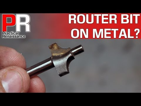 Will a Basic Router Bit Work on Aluminum?