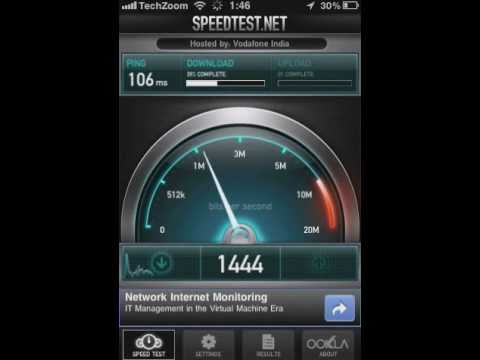 Test GPRS, 3G, Wi-Fi Internet Speeds on iPhone and Android