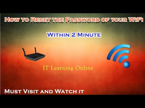 how to Reset the Password of Wifi (Ptcl-B)
