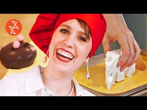 How to Make Marshmallow Cheese and Chocolate Mice   Où se trouve: Juliette & Chocolat
