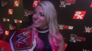 Alexa Bliss Interview: Real life beef with Sasha Banks, Broken arm trick, main eventing WrestleMania