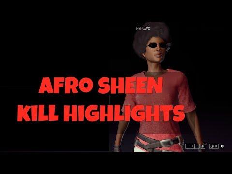 PUBG   Afro Sheen Kill Highlights