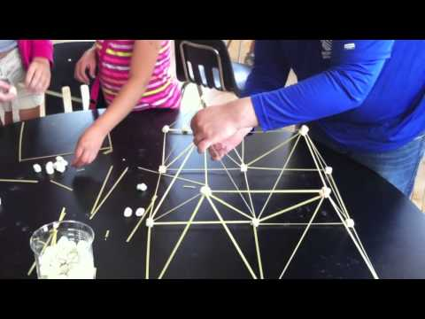 Building Structures w/ Uncooked Noodles and Marshmallows