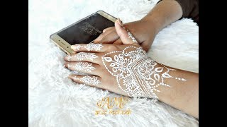 Beautyful White Henna Design For Wedding Henna Design 78