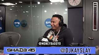 Moneybagg Yo interview at Shade45 with Dj Kayslay 5/22/19