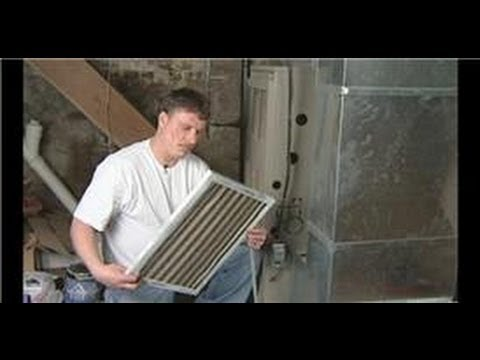 Plumbing & HVAC Maintenance : How to Change Furnace Air Filters