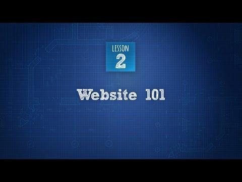 Build An Artist Website 2 of 6: Websites 101